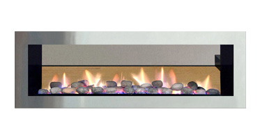 Heat & Glo - Red 40 See-Thru Fireplaces